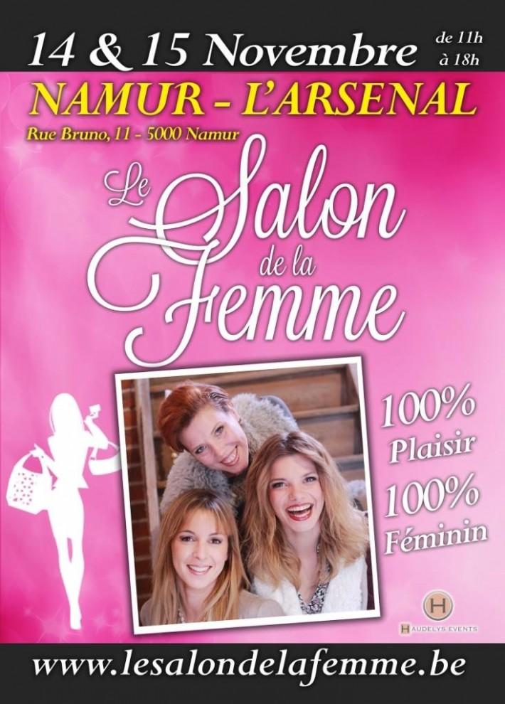Salon de la femme de Namur – 14/15 novembre Namur