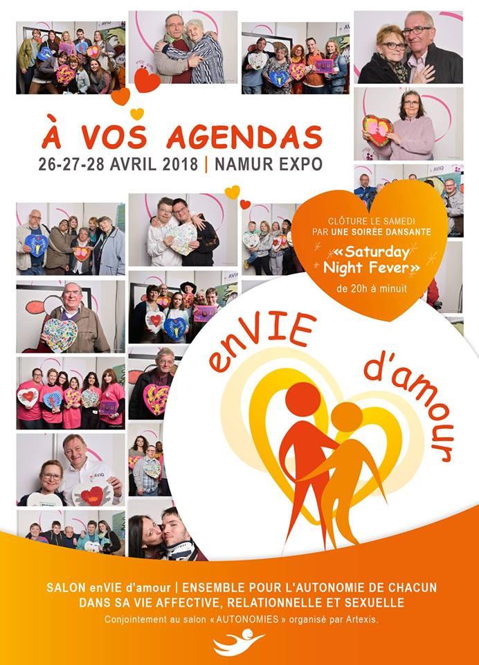 Deuxième édition du Salon EnVie d'Amour 26-27-28 avril 2018